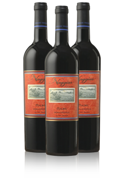 Three Bottles of Naggiar Vineyards Wine