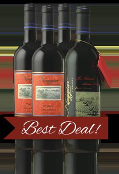 Four Bottles of Naggiar Vineyards Wine