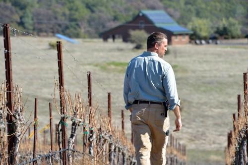 Naggiar Vineyards - Derek Irwin Walking