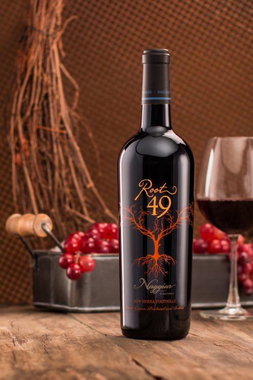 Root 49 Wine bottle