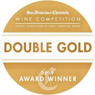 San Francisco Chronicle Wine Competition Double Gold 2019