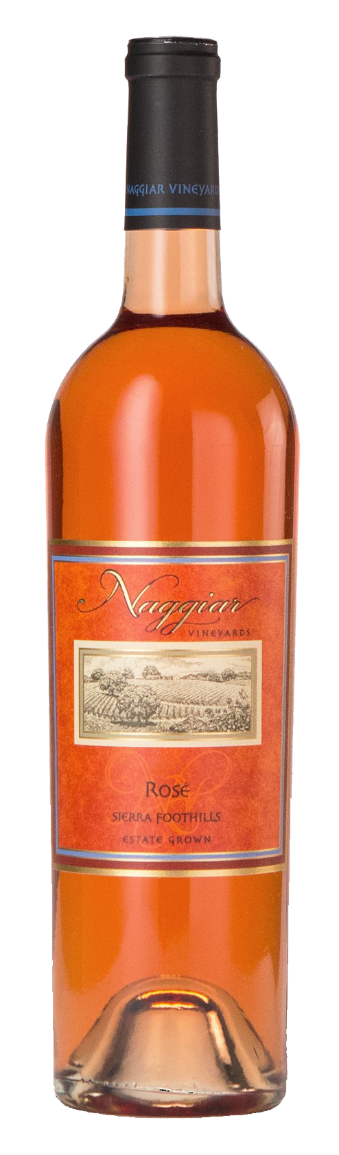 Naggiar Rose Wine Bottle