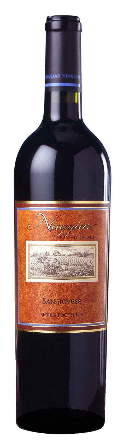 Naggiar Sangiovese Wine Bottle