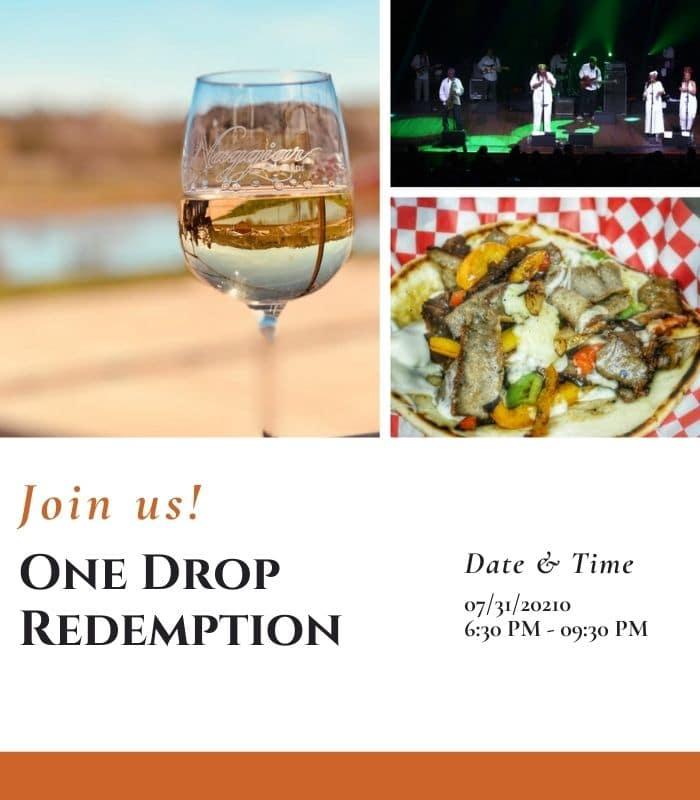 One Drop Redemption - Naggiar Vineyards