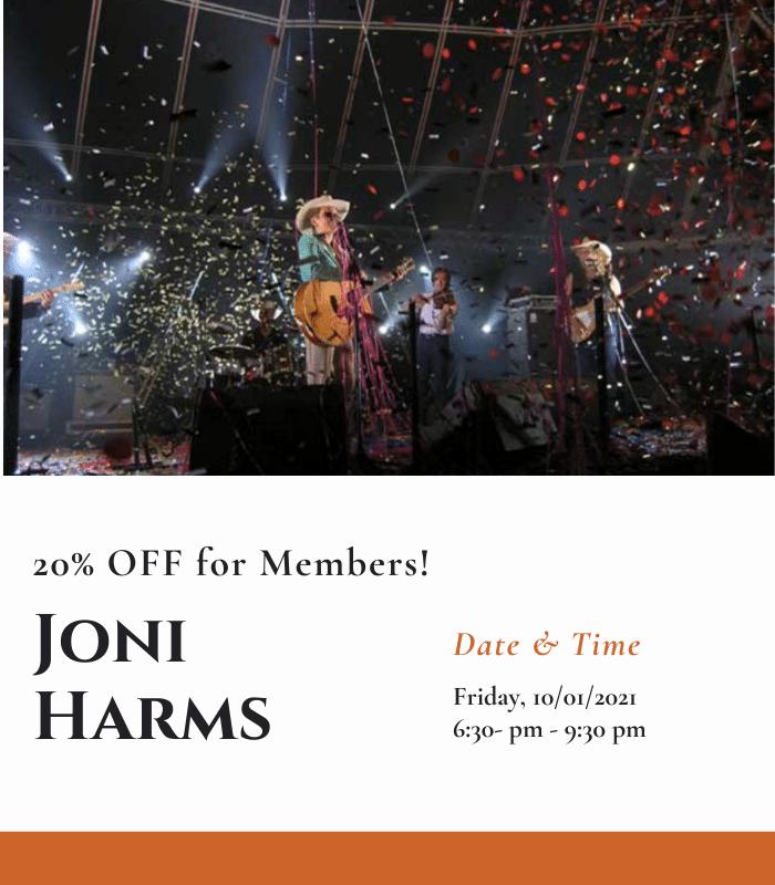 Joni Harms - Members